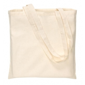 Cotton bag - long handles