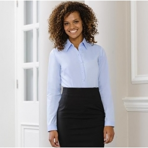 Ladies' Long Sleeve Easy Care Oxford Shirt Russell