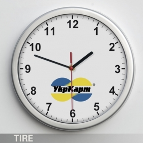 Wall clock TIRE