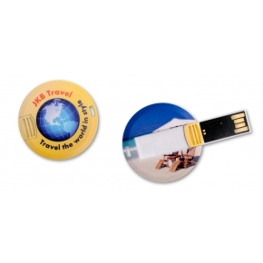 USB Flash Drive Coin Card